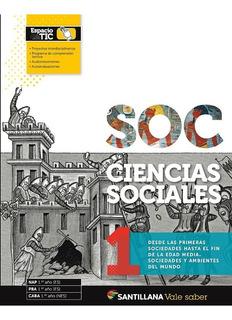 Ciencias Sociales 1-vale Saber-santillana-nov. 2019