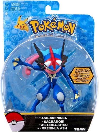 Pokémon Figura Articulada Ash Greninja 13 Cm 1963 Sunny