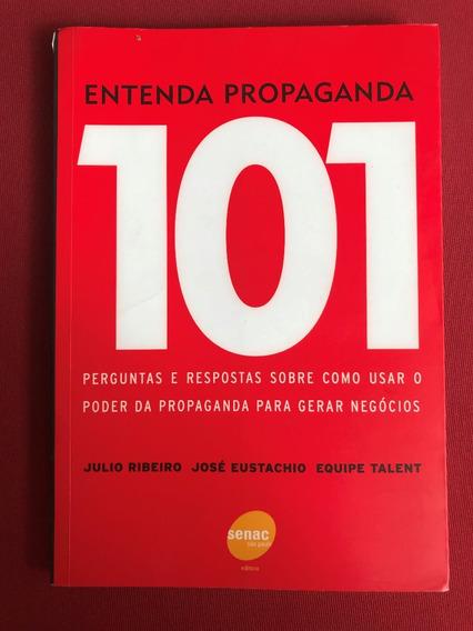 Livro - Entenda Propaganda 101 Perguntas - Seminovo
