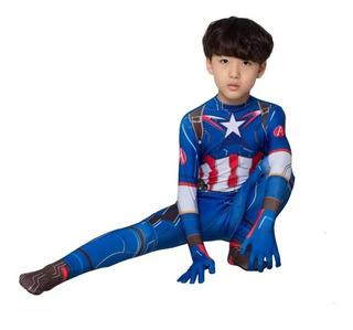 Disfraz Infantil Capitan America Marvel Super Heroes
