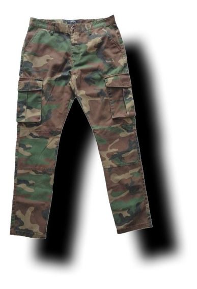 Pantalones Forever 21 Militar Cagro Camuflaje Urban Beach