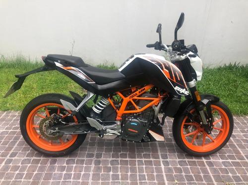 Duke 390 Ktm Moto Usada Impecable Naked 12 Cuotas S/ Int!