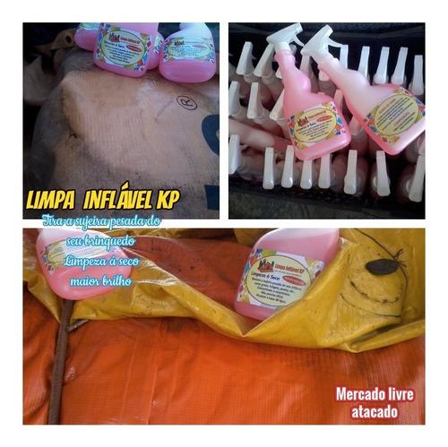 Imagem 1 de 10 de Limpa Kp1000 Brinquedos Infláveis Kit C/05 Borrifador 500ml.