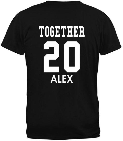 Playeras Pareja Amor Juntos Desde Together Since Personaliza