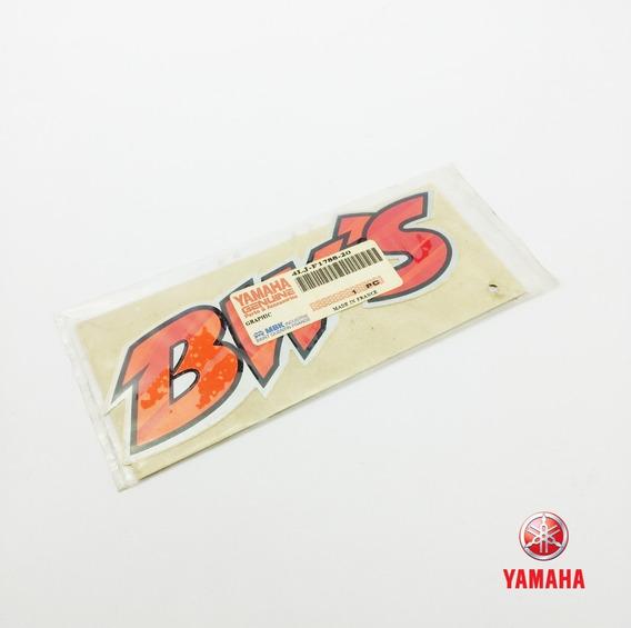 Adesivo Emblema Lateral Yamaha Bws 50cc Original