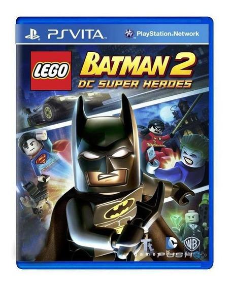 Lego Batman 2 Dc Super Heroes Ps Vita Mídia Física
