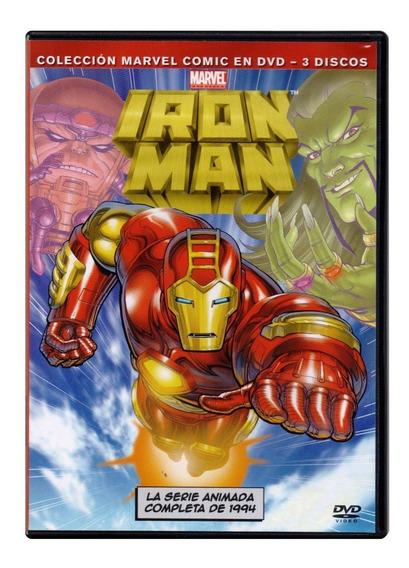 Iron Man Serie Animada Completa 1994 Marvel Dvd