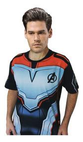 Camisa Piticas Uniforme Oficial Ultimato + Chaveiro Thanos