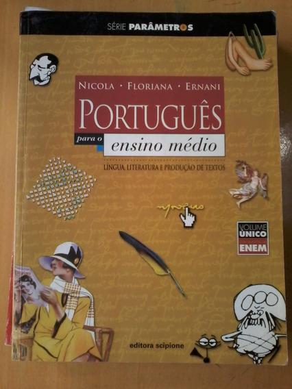 Livro Português Para O Ensino Médio Volume Único Nicola