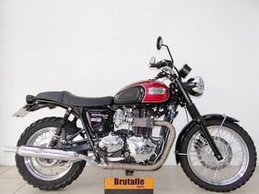 Triumph Bonneville T100 2014 Preta