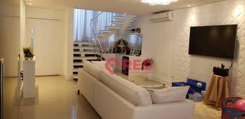Sobrado Com 3 Dormitórios À Venda, 277 M² Por R$ 1.390.000,00 - Condomínio Mont Blanc - Sorocaba/sp - So0150