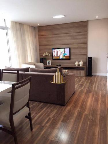 Apartamento Com 2 Dormitórios Sendo 1 Suíte À Venda, 90 M² Por R$ 670.000 - Alphaville - Barueri/sp - Ap0507