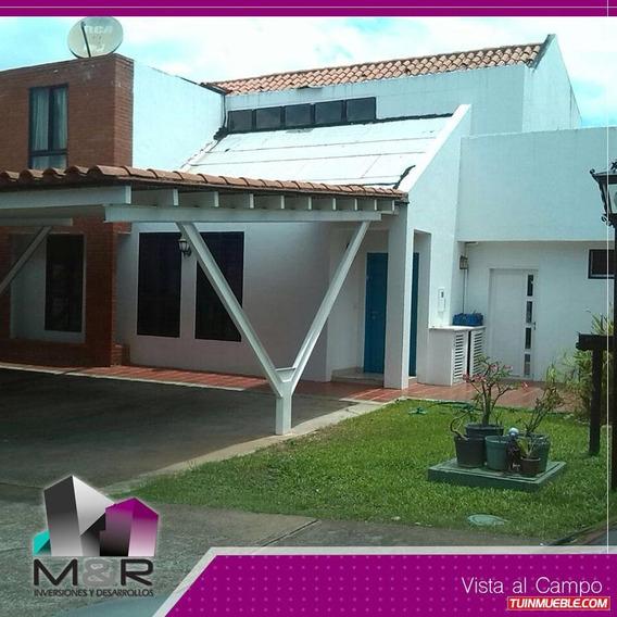 Casa En Puerto Ordaz Conj. Res. Vista Al Campo M&r-171
