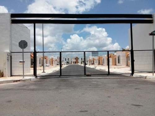 En Renta Bonita Casa De 2 Recámaras Sin Muebles, Cerrada Miraflores, Marsella, Playa Del Carmen. P23
