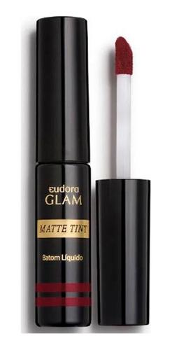 Imagem 1 de 4 de Batom Líquido Matte Tint Glam