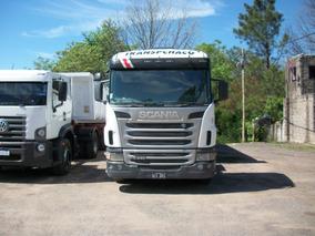 Scania G340 Tractor Con Batea Hermann 1+2 2013 Engomada