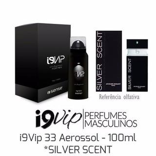 Perfume Masculino Silver Scent 100 Ml - I9 Vip