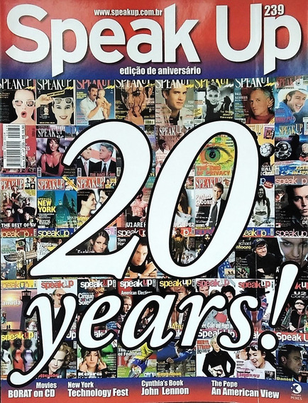 Kit 4 Revistas Speak Up Importadas + Cds De Áudio - Inglês