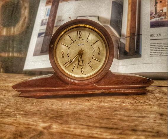 Reloj De Cuerda Antiguo.