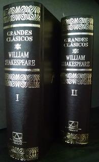 Obras Completas, William Shakespeare, Aguilar 2 Tomos 1991