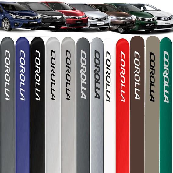 Friso Lateral Novo Corolla 2009 A 2019 Cor=carro Toyota