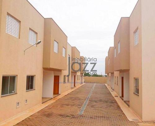 Casa, Sobrado, Com 2 Dormitórios À Venda, 87 M² Por R$ 230.000 - Chácara Bela Vista - Sumaré/sp - Ca5292