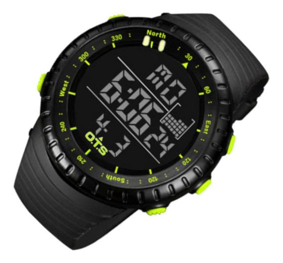 Relógio Masculino Ots 7005 Res Água P/a Sport 12 Vezes