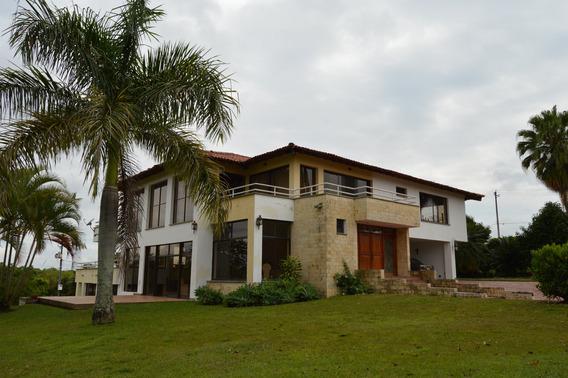 Espectacular Casa Camprestre En Cerritos