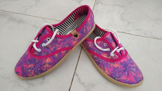 Zapatillas Estampadas Chatitas Moda
