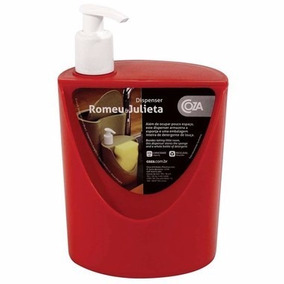 1 - Dispenser Porta Sabão / Sabonete Romeu & Julieta 600ml