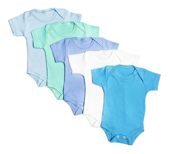 Kit 22 Peças Body Calça Mijão E Meias Para Bebês Algodão
