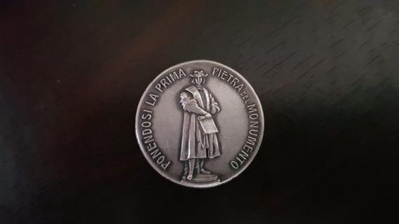 Medalla Monumento A Cristobal Colon