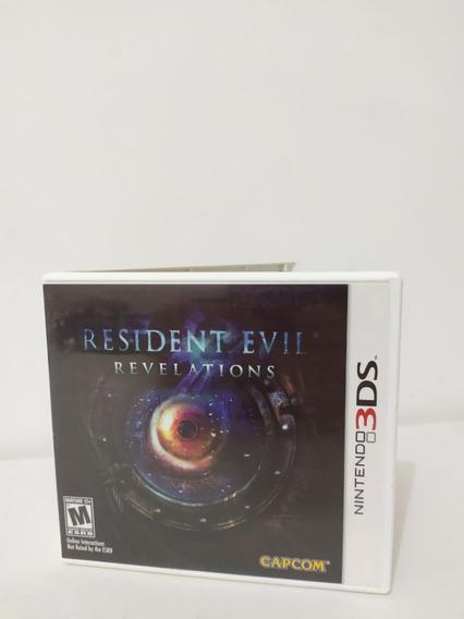 Jogo Resident Evil Revelations Original Nintendo 3ds 0033