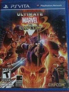 Juego Ps Vita Ultímate Marvel Vs Capcom 3