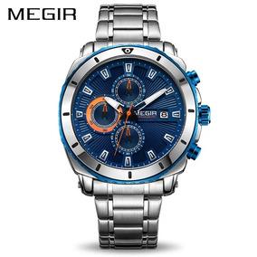 Relógio De Luxo Megir Sports A Prova D