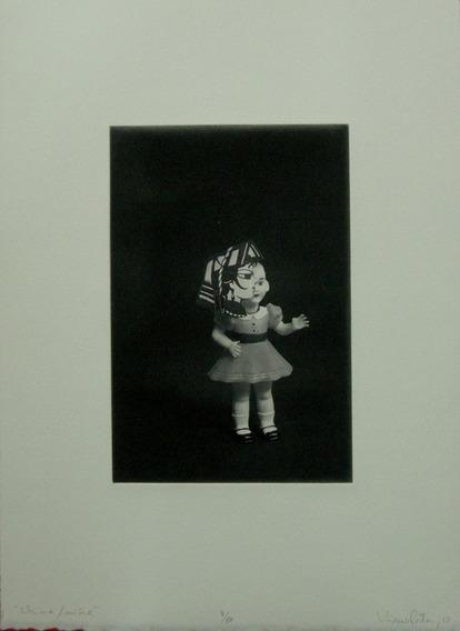Liliana Porter China/niña (título) 7/50 Gravura Em Metal 2