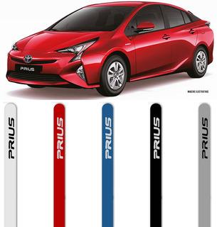 $ Jogo Friso Lateral Pintado Toyota Prius Cor Original