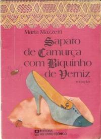 Sapato De Camurça Com Biquinho De Verniz Maria Mazzetti