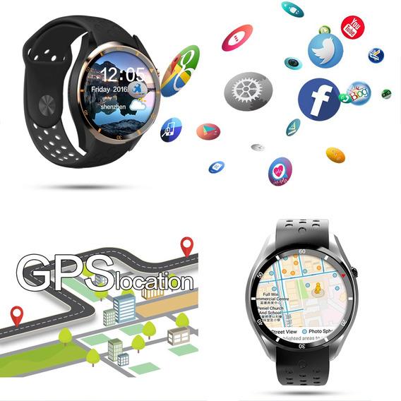 Reloj Inteligente Iqi I3 Bt Gps 3g/2g C/monitoreo Ritmo Card