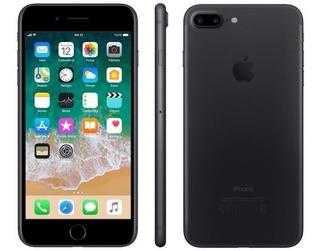 iPhone 7 Plus Apple 256gb Preto Matte Tela 5.5 - Câm. 12mp