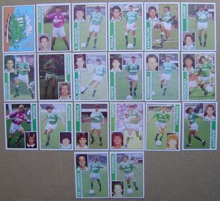 Ferro Carril Futbol 93 Set Figuritas Completo Impecables