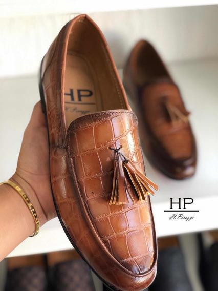 Loafer Luxury Hpirezzi Café Sombreado