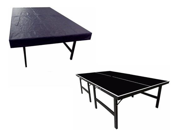 Capa Premium Para Ping Pong Tênis Mesa Corino Impermeável