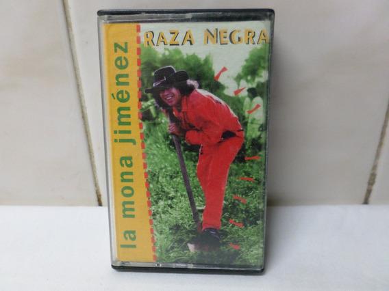 La Mona Jimenez Cassette Raza Negra Rca 1994