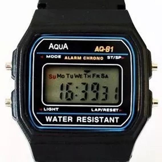 Relógio Aqua Aq 81 Usado 01