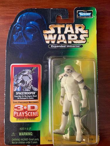 Star Wars Potf Expanded Universe Spacetrooper 3.75 Kenner