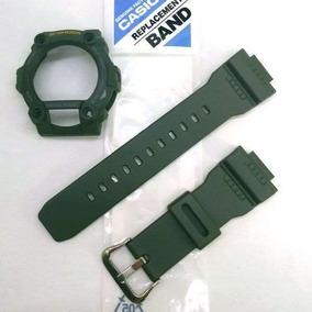Pulseira + Bezel Original Verde G-7900 3v Casio G-shock