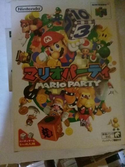 Jogo Mario Party 1 Nintendo 64