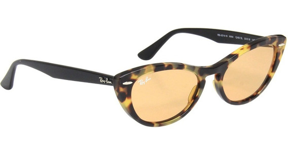 Óculos Sol Gatinho Ray Ban Nina Rb 4314 - Feminino
