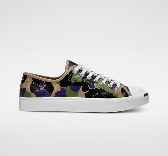 Tenis Converse Unisex Leather Archive Prints Jack Purcell